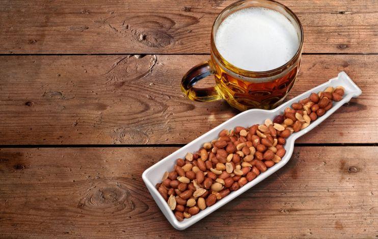 Пиво иарахис помогут восстановиться после тренировки