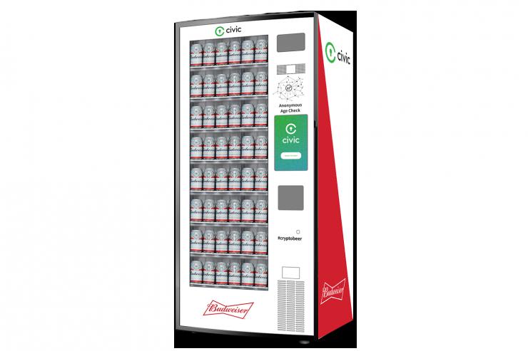Блокчейн-стартап создал крипто-автомат для продажи пива