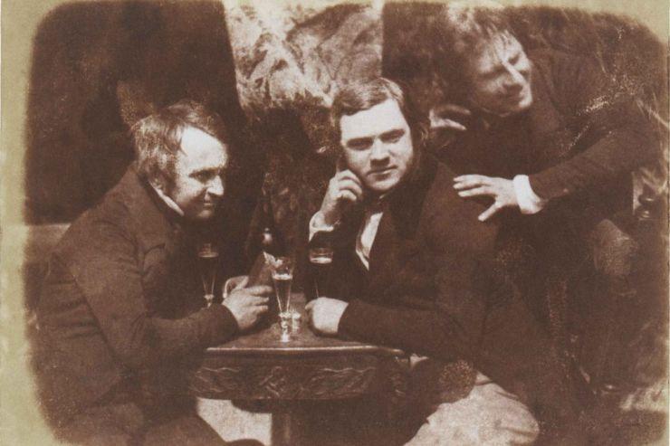 Первое фото людей с пивом было сделано в 1844 году