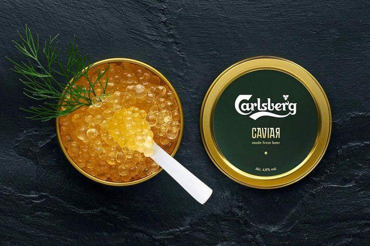 Carlsberg выпустил пивную икру