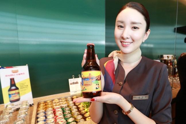Авиакомпания Asiana выпустила собственное крафтовое пиво
