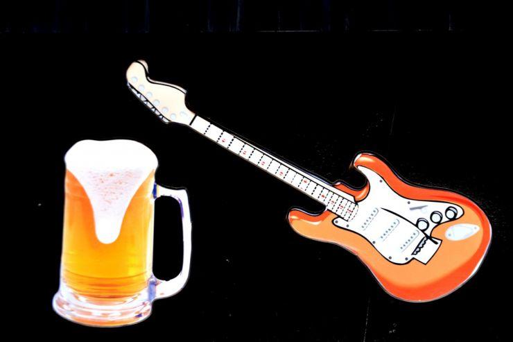 Американская пивоварня сварила пиво из гитары