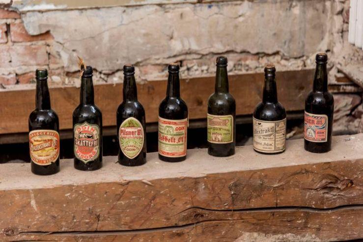 Датчане нашли тайник с пивом начала XX века