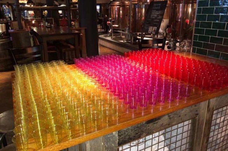 Британская сеть пабов побила мировой рекорд по самой массовой дегустации пива